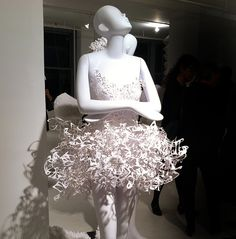 If It's Hip, It's Here: Paper Fashions Preview : Pratt + Paper & Ralph Pucci, Dec 7th, NYC