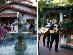 A Spanish hacienda style wedding - have a mariachi band play at your wedding #wedding #spanish