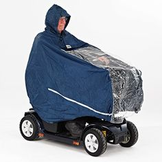 mobility scooter rain cape