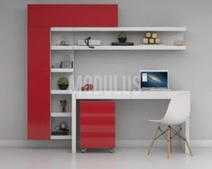 Compact Study Room Designs To Help Your Kids Study Study Table Designs, Study Room Design, Kids Room Design, Home Office Design, Interior Design Living Room, House Design, Kids Study Table Ideas, Home Office Furniture, Furniture Design