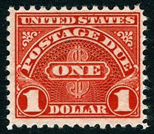 1930 Postage Due Stamp