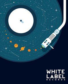 ideas music poster illustration artists for 2019 Design Graphique, Grafik Design, Oeuvre D'art, Vinyl Records, Vinyl Music, Music Music, Vinyl Record Art, Sound Music, Rock Music