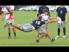 Best Ultimate Frisbee Highlights. These are amazing!!!!!