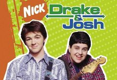 A description of tropes appearing in Drake & Josh. Over-the-top Nickelodeon sitcom created by Dan Schneider about two Odd Couple stepbrothers. Drake And Josh, Nick Drake, Drake Bell, Old Tv Shows, Kids Shows, Best Tv Shows, Favorite Tv Shows, Movies And Tv Shows, Disney Films
