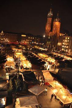 ❄ Christmas Markets (Targi Bożonarodzeniowe) ❄ Krakow, POLAND