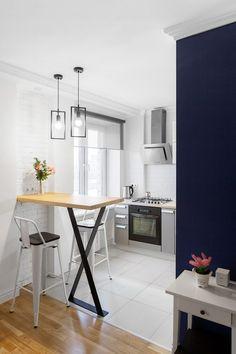 Kis lakás berendezése szűkös költségvetéssel, rövid határidővel - 45m2-es új otthon egy fiatal párnak