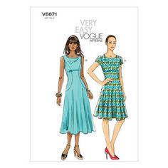 Mccall Pattern V8871 16-18-20-2-Vogue Pattern