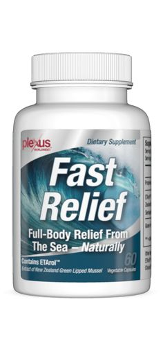 Fast Relief Capsules for inflammation & pain issues. Very effective -- great product!! We use this instead of tylenol or other pain relievers... an all natural product that works even better!