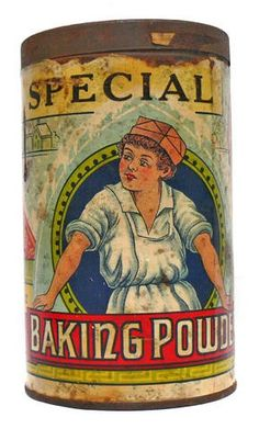 VINTAGE ADVERTISING CANDY GUM TIN SPECIAL BAKING POWDER Antique Bottles, Vintage Bottles, Vintage Tins, Vintage Metal, Vintage Antiques, Vintage Pantry, Vintage Perfume, Antique Glass, Vintage Kitchen