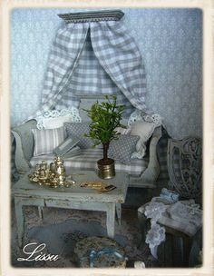 Doll house interiors