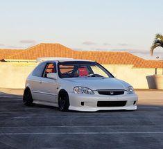 Honda Vtec, Honda Civic Hatchback, Honda Civic Type R, Civic Day, Ek Hatch, Import Cars, Japanese Cars, Modified Cars, Jdm Cars