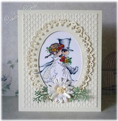 Spring Wedding by frenziedstamper - Cards and Paper Crafts at Splitcoaststampers