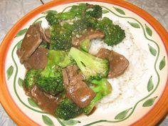 Gluten Free Betty: Beef and Broccoli - Gluten Free. Hands down THE best g-free recipe