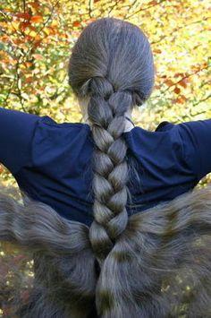 Valkyrie's Braid? Amazing Long Braid