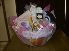 Make Wedding Gift Basket : ... gifts on Pinterest Wedding gift baskets, Gift baskets and Gift