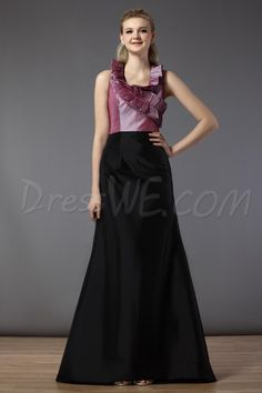 Dresswe.com SUPPLIES  V Neckline Sleeveless Floor-Length Bridesmaid Dress 2013 Bridesmaid Dresses