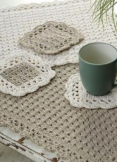 Placemat and Coasters by Marilyn Coleman