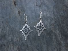 Ornate Cut Out Earrings by SashaBellJewelry on Etsy, $65.00