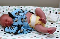 Cloth diapering a newborn without breaking the bank.