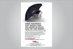 home insurance advertising home umbrella advertising campaign for pw ...