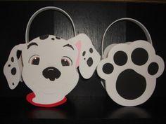 dalmatian party ideas | Dalmatians Party Bags Dalmatian Paw Party Bag | eBay