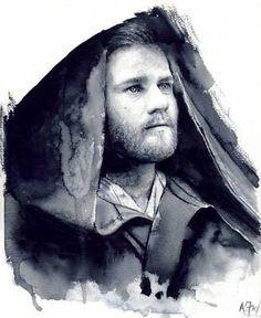 Obi-Wan Kenobi Star Wars Fine Art Print by A.Fry