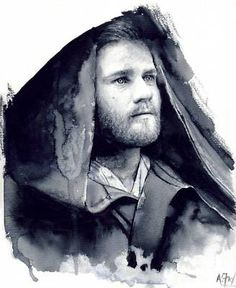 Obi-Wan Kenobi Star Wars Fine Art Print by A.Fry