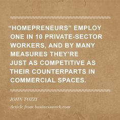 The Rise of the 'Homepreneur'