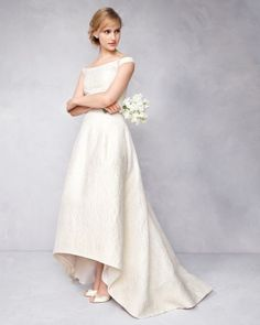 One wedding dress silhouette, two ways: http://www.marthastewartweddings.com/331096/wedding-dress-styles-every-bride