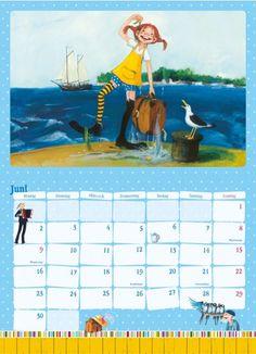 Pippi Langstrumpf Kalender 2014