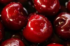 """""""Cherry is a nutritious fruit that provides relief for people with gout, sore muscles, and insomnia."""" Dwarf Cherry Tree, Apple Gifts, Close Up Photography, Red Apple, Fruits And Vegetables, Starchy Vegetables, Cheesecake Recipes, Food Photo, Free Food"""