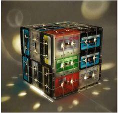 cassettes reciclaje - Ya la hice!!!!!