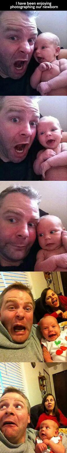 Copy babies expressions