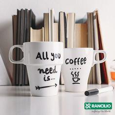 #Rancilio #Coffee #Cup #AllYouNeedIsCoffee  www.WeBrew.coffee #WeBrew