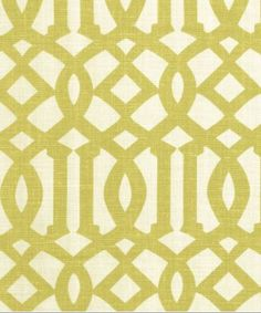 Kelly Wearstler Imperial Trellis fabric- citrine #fabric