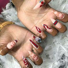 GUCCI - -  #nails #nailswag #nailstagram #nailsdid #nailsofinstagram #nailsdone #nails2inspire #nailsoftheday #nailsart #nailsalon #nails4yummies #nailsinc #nailsdesign #nailspolish #nailsoftheweek #nailshop #nailstyle #nailsofig #nailsmakeus #nailsaddict