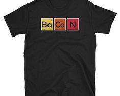 6d570a98b 20 Best Funny Chemistry Puns Jokes Periodic Table Nerd Geek T-Shirts ...