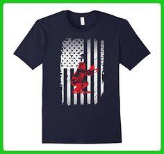 Mens Baseball Catcher Flag Shirt- Funny Baseball Shirts Small Navy - Sports shirts (*Amazon Partner-Link)