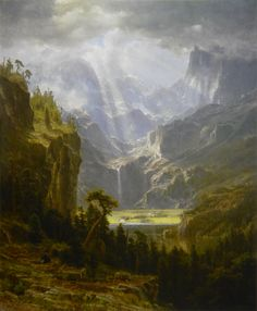 albert bierstadt the rocky mountains | File:The Rocky Mountains, Lander's Peak (Albert Bierstadt), 1863 (oil ...