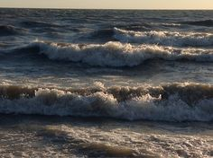 September storm Lake Erie, Leamington Ontario