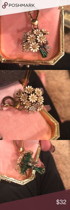 Juicy couture sunflowers charm So cute Nd rare Juicy Couture Jewelry