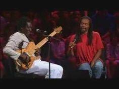 Best lullaby ever.  Bobby Mcferrin improvisation with Richard Bona. Live in Montreal.