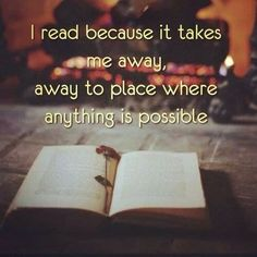 the reason why i love reading Quotes For Book Lovers, Book Quotes, Life Quotes, Success Quotes, Bookworm Quotes, Career Quotes, Dream Quotes, Quotes Quotes, I Love Books