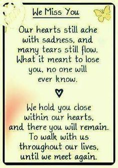 We miss you.if only words could describe how deep the wound goes, each and every time we have to say good-bye to another baby. Rip Daddy, Loss Quotes, Dad Quotes, Qoutes, Celine, Mom In Heaven, Missing You In Heaven, Missing Daddy, Poems