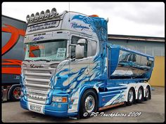 SCANIA R620 V8 8x4 Topline - Blue Fire - Thurhagen - Sweden | Flickr - Photo Sharing!