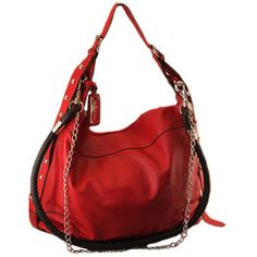 Sac O Grande Chains Hobo Bag