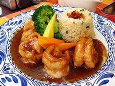 Unos Riquisimos Camarones con Tamarindo especialmente elaborado para el agrado de su paladar y&n... Spicy Dishes, Seafood Dishes, Fish And Seafood, Asian Recipes, Mexican Food Recipes, Dessert Recipes, Ethnic Recipes, Spanish Recipes, Food Alert