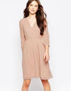 Vero Moda 3/4 Sleeve Midi Dress