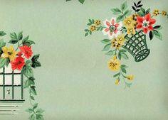 SecondHand Rose, Vintage Wallpaper