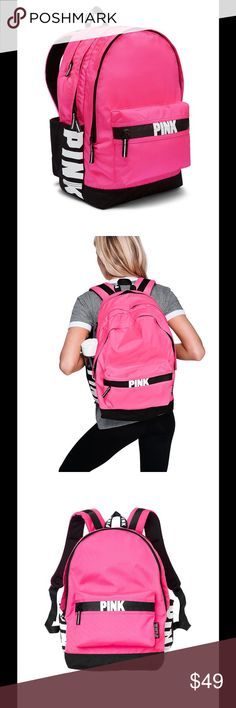 New! Pink Victoria's Secret bag pack New with tag PINK Victoria's Secret Bags Backpacks